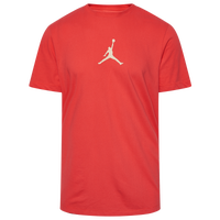 Jordan Jumpman Dri-Fit Short Sleeved Football T-Shirt - Men's - Red