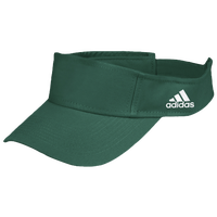 adidas Team Adjustable Visor - Dark Green / White