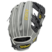 Wilson A500 Youth Baseball Glove All Positions - Grey