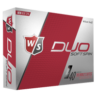 Wilson Staff Duo Soft Spin Golf Balls - Men's - White / Black
