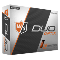 Wilson Staff Duo Soft Golf Balls - Men's - Orange / Black