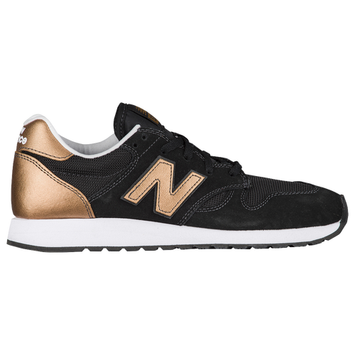New Balance Women's 520 Shoes Black with Gold