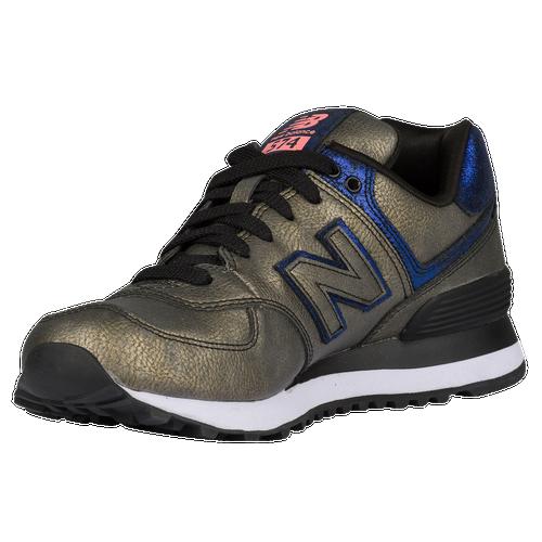 015b51f05ad New Balance 574 - Women s - Running - Shoes - Black Purple