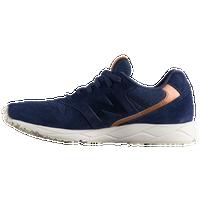 new balance shoes navy blue. new balance 96 - women\u0027s navy / orange shoes blue
