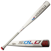 Louisville Slugger Solo 619 Big Barrel Baseball Bat - Grade School - White
