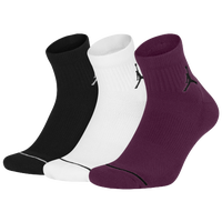 c4a129374ca2 Jordan Jumpman Quarter 3 Pack Socks