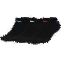 Nike 3 Pk Performance Cushioned No-Show Socks - Women s - Black   Multicolor 93a4d00eb