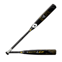 DeMarini CF BBCOR Baseball Bat - Men's - Black / Yellow