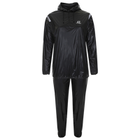 Capelli Deluxe Hooded Sauna Suit - Black