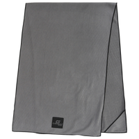 Capelli 4 Corner Slick Grip Yoga Mat Towel - Grey