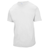 Gildan Team Ultra Cotton 6oz. T-Shirt - Boys' Grade School - All White / White
