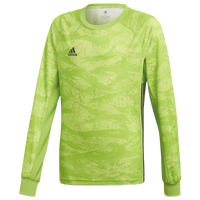 adidas adiPro Goalkeeper L/S Jersey - Boys' Grade School - Light Green