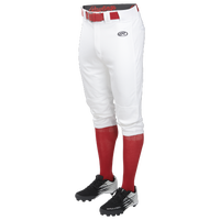 Rawlings Launch Solid Knicker Baseball Pants - Youth - White