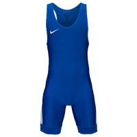 Nike Grappler Elite Wrestling Singlet - Youth - Blue