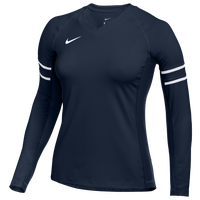 Nike Team Stock Club Ace Jersey L/S - Women's - Navy