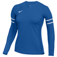 Nike Team Stock Club Ace Jersey L/S - Women's - Blue