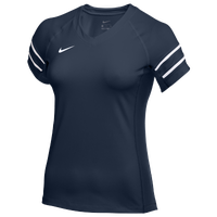 Nike Team Stock Club Ace Jersey S/S - Women's - Navy