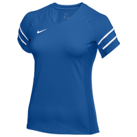 Nike Team Stock Club Ace Jersey S/S - Women's - Blue