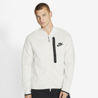 Nike Tech Fleece Bomber - Men's - Off-White