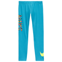 Nike Fav School's Out Tight - Girls' Grade School - Aqua