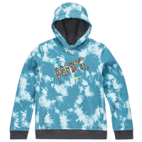Nike Club School's Out Pullover Hoodie - Girls' Grade School - Aqua