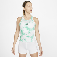 Nike Tie Dye Tank - Girls' Grade School - White